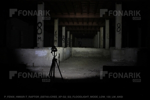 Тест фонаря Fenix HM65R-T Raptor 130 люмен