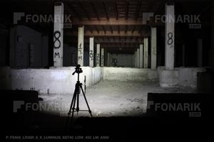 Тест фонаря Fenix LR35R 450 люмен