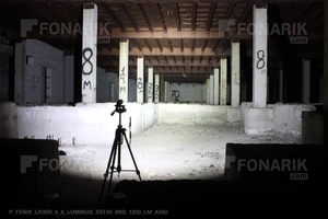 Тест фонаря Fenix LR35R 1200 люмен