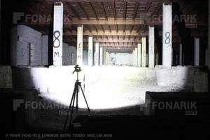 Тест фонаря PD40 V2.0 3000 люмен
