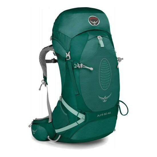 Рюкзак Osprey Aura AG 50 Rainforest Green 1