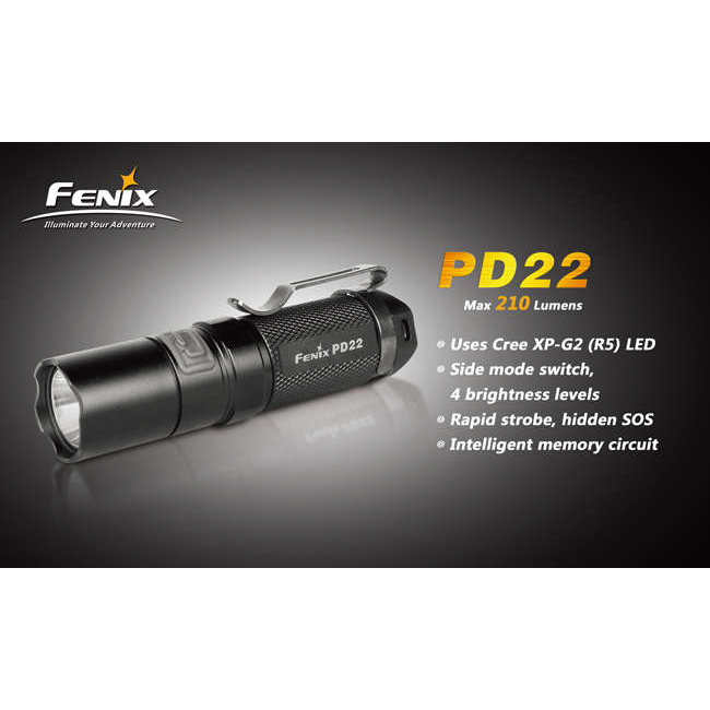 Фонарь Fenix PD22 CREE XP-G2 LED R5 1588