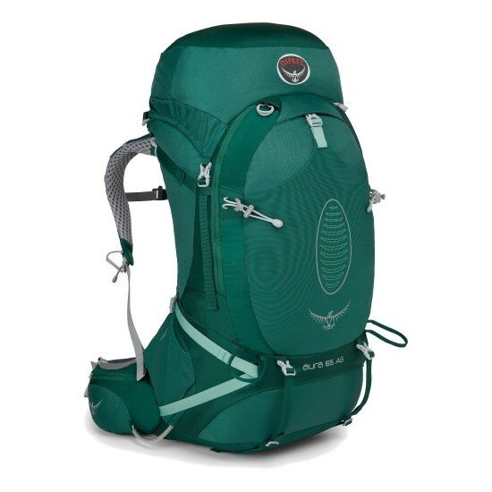 Рюкзак Osprey Aura AG 65 Rainforest Green 1