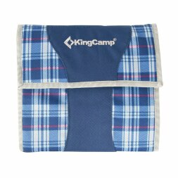 Набор для пикника KingCamp Picnic Cooking Wallet (KG2733) Blue CHECKERS
