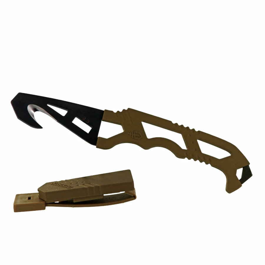 Нож Gerber Crisis Hook Knife TAN499 (30-000590) 1