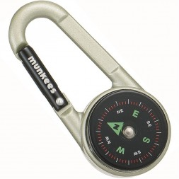 Карабин Munkees Compass with Thermometer (3135)