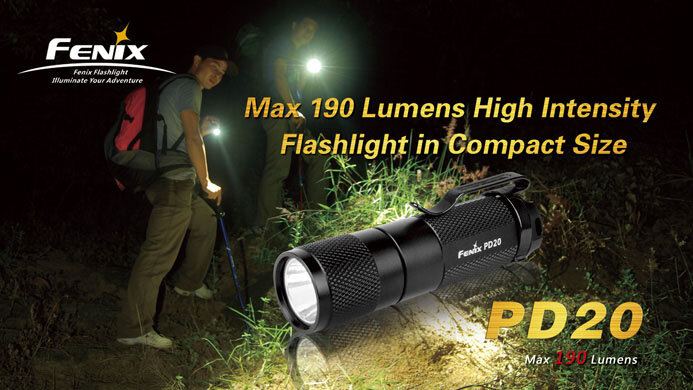 Фонарь Fenix PD20 Cree XP-G LED R5 1572