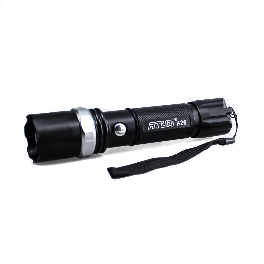 Фонарь Atum A26 CREE XP-E Led 18650 1