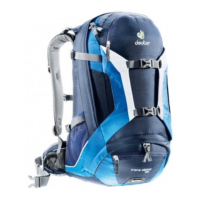 Рюкзак Deuter Trans Alpine 30 (красный, синий) 15919