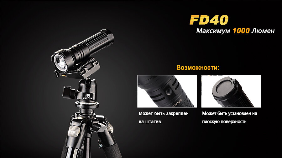 Фонарь Fenix FD40 Cree XP-L HI LED 6183