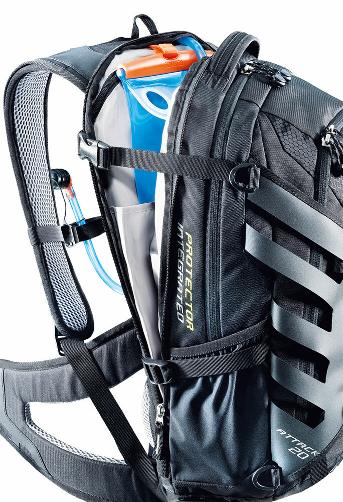Рюкзак Deuter Attack SL, 18 л, blueberry-mint 29083