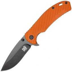 Нож Skif Sturdy II Black Stonewash orange 420SEBOR