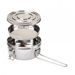 Набор посуды Summit Tiffin Cookset сталь 1,2 л