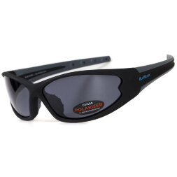 Очки BluWater Daytona-4 Polarized (gray) черные