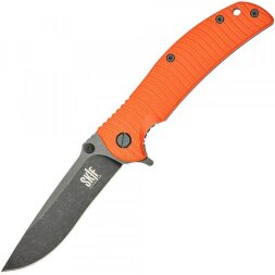 Нож Skif Urbanite II Black Stonewash orange 425SEBOR