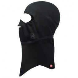 Балаклава Buff WindProof Balaclava Solid Black L/XL