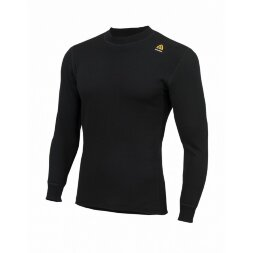 Термофутболка Aclima HotWool 230 gr Crew Neck Unisex Black