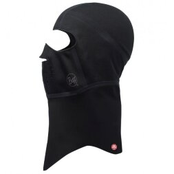 Балаклава Buff WindProof Balaclava Solid Black S/M
