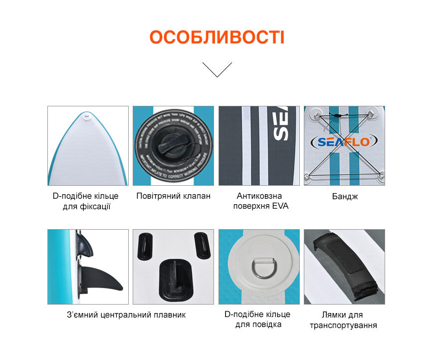 SUP-доска SeaFlo SUP-дошка SF-IS002-S 100482