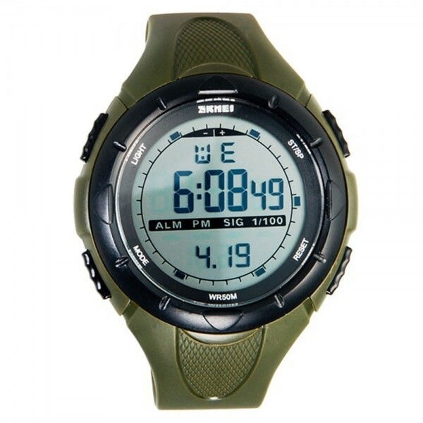 Часы Skmei 1025 Army Green 1
