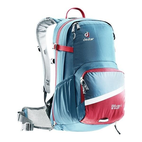 Рюкзак Deuter Bike I Air EXP, 16 л, arctic-cranberry 1