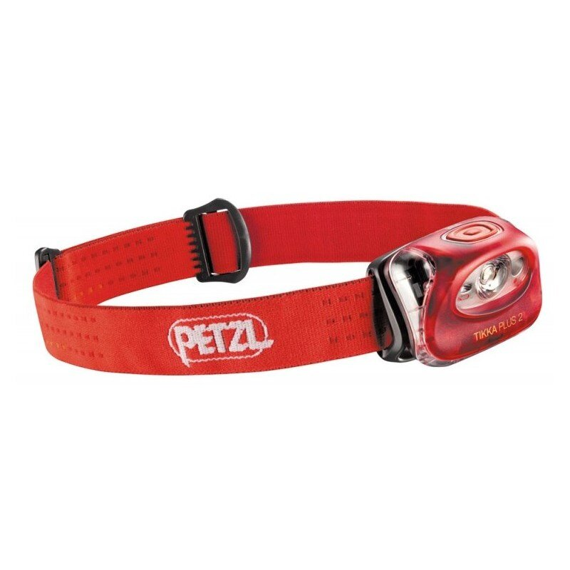 Фонарь Petzl Tikka Plus 2 red 1