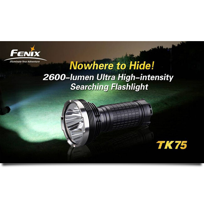 Фонарь Fenix TK75 3xCree XM-L (U2) LED 2013