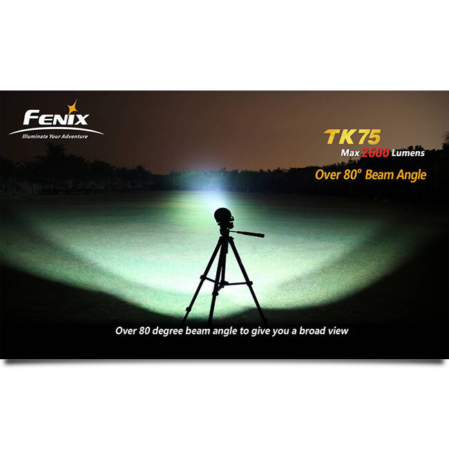 Фонарь Fenix TK75 3xCree XM-L (U2) LED 2014