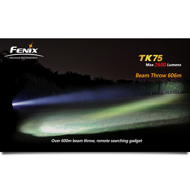 Фонарь Fenix TK75 3xCree XM-L (U2) LED 2016