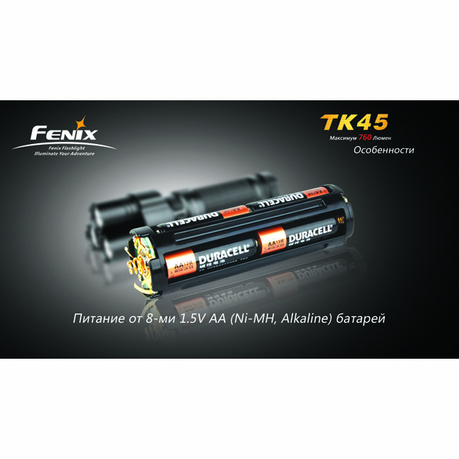 Фонарь Fenix TK45 3xCree XP-G R5 1927