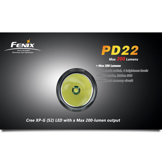 Фонарь Fenix PD22 CREE XP-G LED S2 1579