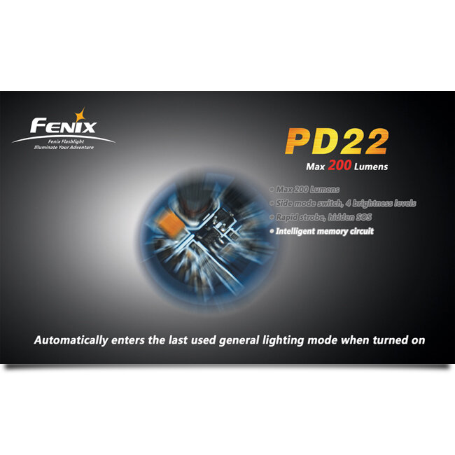 Фонарь Fenix PD22 CREE XP-G LED S2 1581