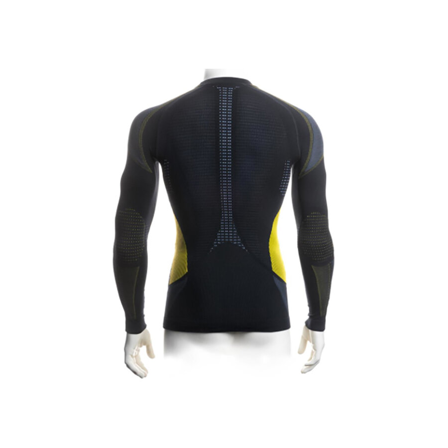 Футболка Accapi Synergy Long Sleeve Shirt Man 920 black/lemon  50292