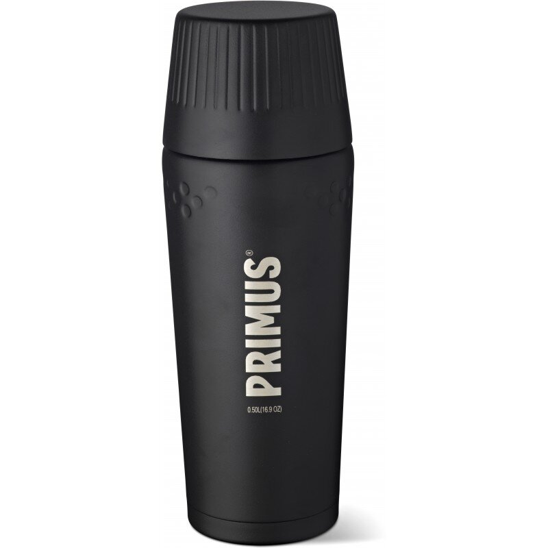 Термос Primus TrailBreak Vacuum bottle 0.5 л (черный, серый) 1