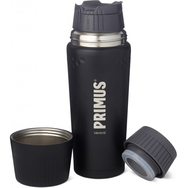 Термос Primus TrailBreak Vacuum bottle 0.5 л (черный, серый) 25702