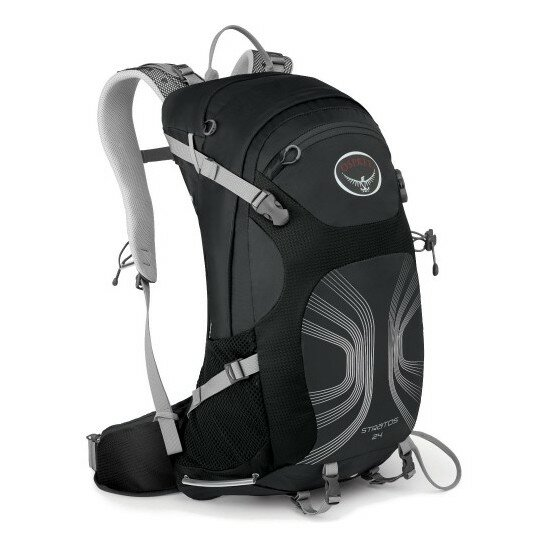 Рюкзак Osprey Stratos 24 Anthracite Black