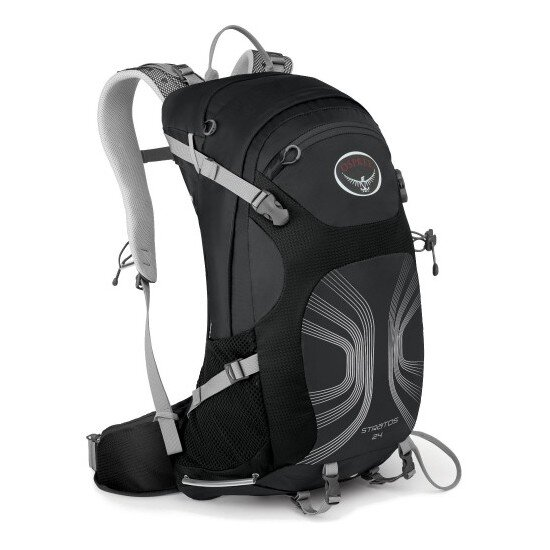 Рюкзак Osprey Stratos 24 Anthracite Black 1