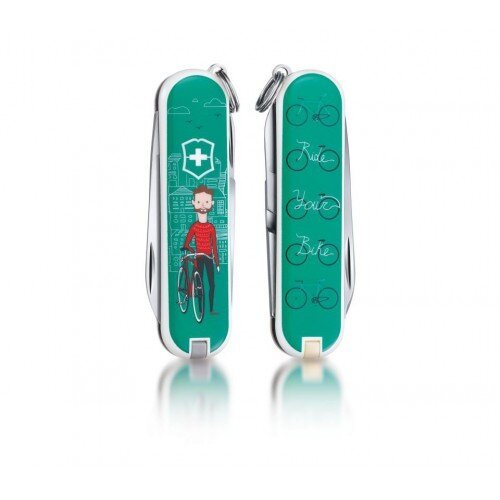 Нож Victorinox Classic Ride your Bike 0.6223.L1508 15038