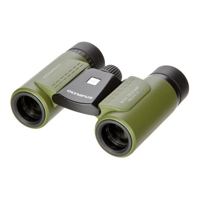 Бинокль Olympus RC II WP 8X21 Olive Green+Pennife and Compass V501013EE010 1