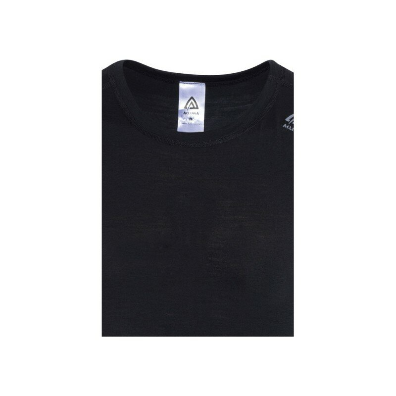 Термофутболка Aclima LightWool Shirt Crew Neck Man JetBlack 55168