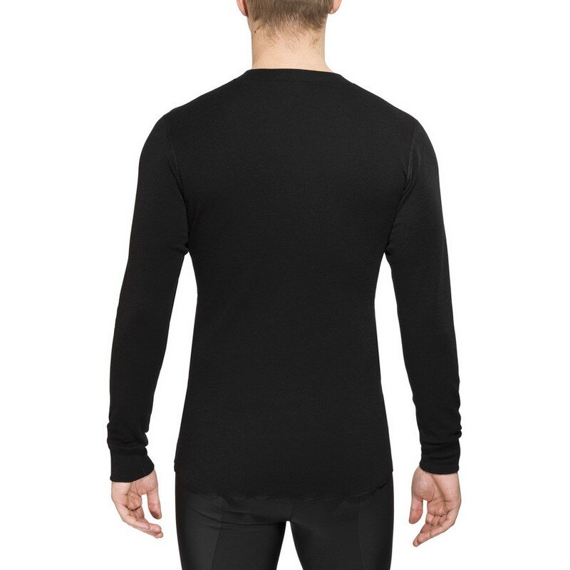 Термофутболка Aclima LightWool Shirt Crew Neck Man JetBlack 55170