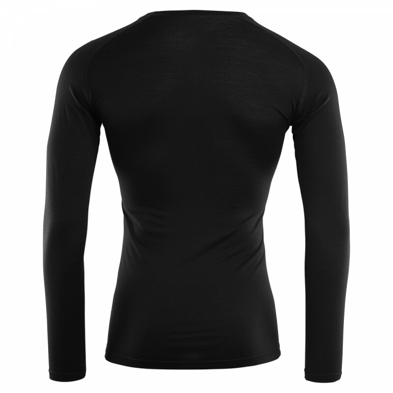 Термофутболка Aclima LightWool Shirt Crew Neck Man JetBlack 55172