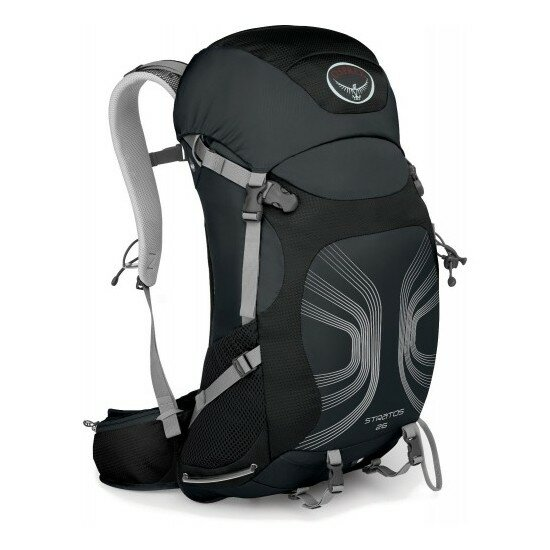 Рюкзак Osprey Stratos 26 Anthracite Black 1