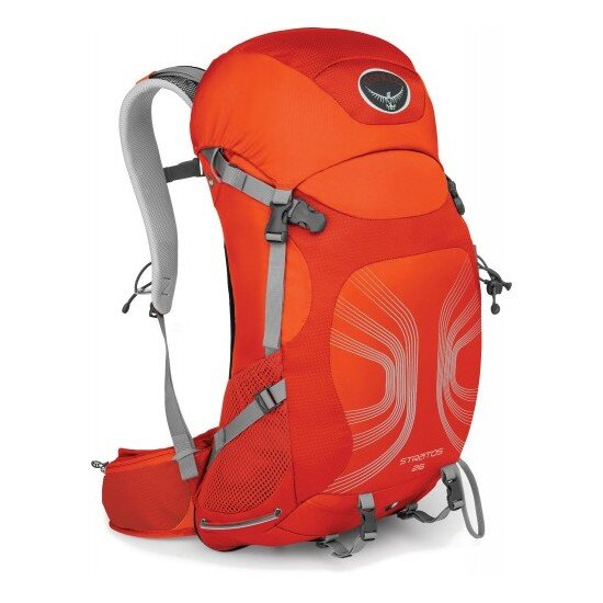 Рюкзак Osprey Stratos 26 Solar Flare Orange M/L 1