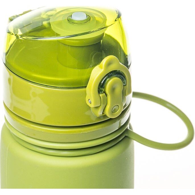 Бутылкасиликон500млTramp TRC-093-olive 82088