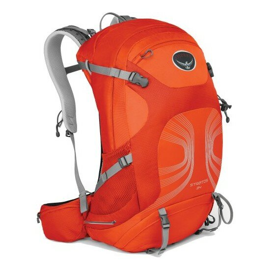 Рюкзак Osprey Stratos 34 Solar Flare Orange 1
