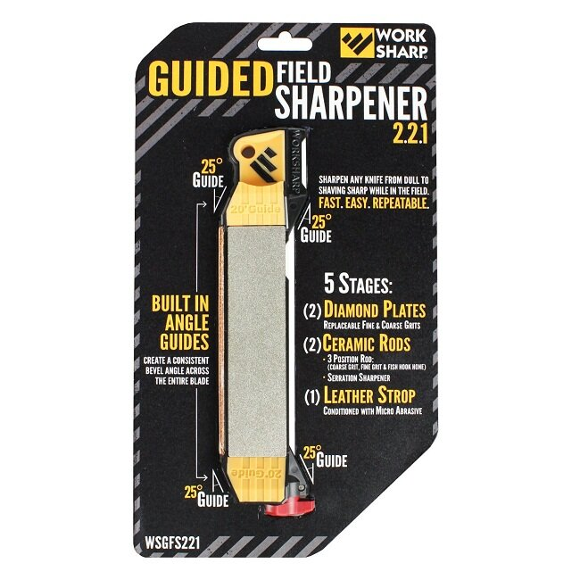 Набор точилок Work Sharp GUIDED FIELD SHARPENER 2.2.1 (6 шт.) 8739