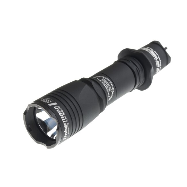 Фонарь Armytek Dobermann Black XP-L, теплый 22488