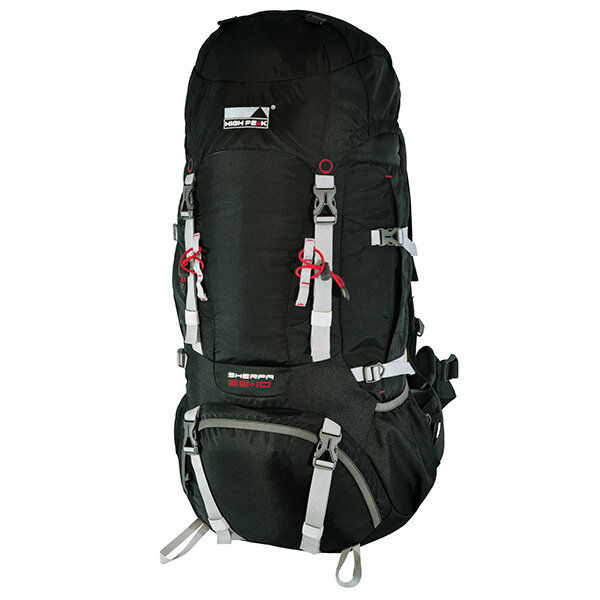 Рюкзак High Peak Sherpa 55+10 (черный) 1