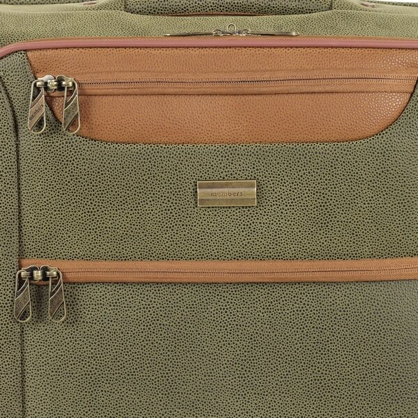 Чемодан Members Boston (M) Olive Green 26495
